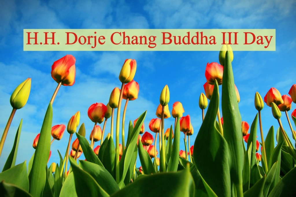 H.H. Dorje Chang Buddha III Day